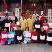 2003年 全日本少林寺気功協会資格認定式